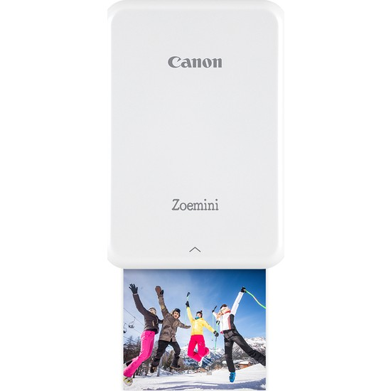 Canon Zoemini Fotoğraf Yazıcısı Gümüş - Beyaz
