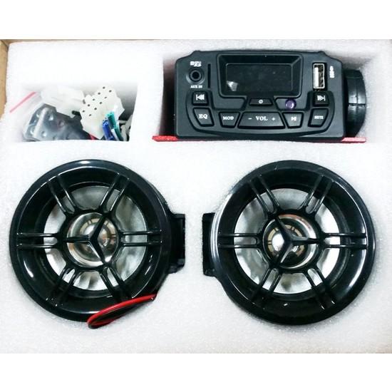 Prc Müzik Sistemi -Mp3 Çalar -Alarm -Usb Aux Okuyucu - Sd Card Girişli - Radyo, Ekranlı Ms1000