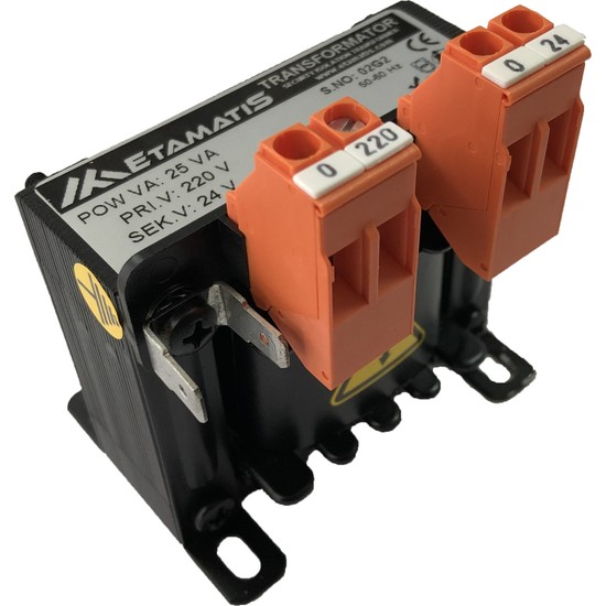 Etamatis 25 Va 220/12 V Ac Transformatör