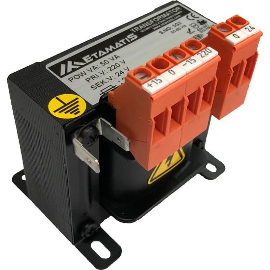 Etamatis 50 Va 220/12 V Ac Transformatör