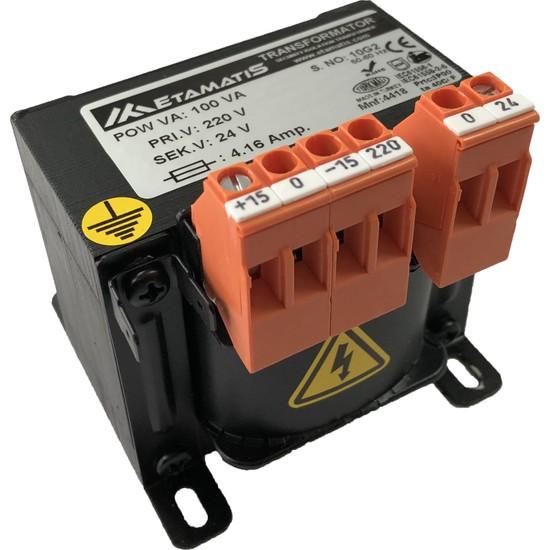 Etamatis 100 Va 380/24 V Ac Transformatör