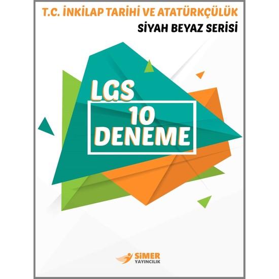 8. Sınıf T.C. İnkılap Tarihi Ve Atatürkçülük 10'Lu Deneme Sınavı - Komisyon