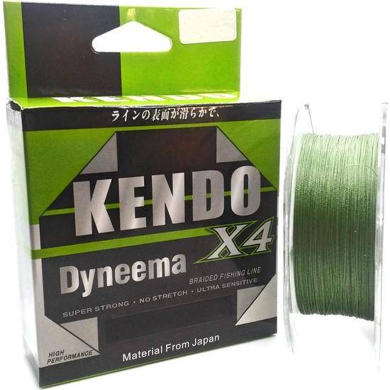 Kendo Dynema Braided High Green 4 Örgü Olta Misinası 120Mt