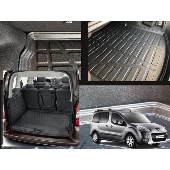 Cardanadamshop Peugeot Partner Tepee 2008-2018 Bagaj Havuzu Tam Uyumlu Kokusuz ve Boşluksuz