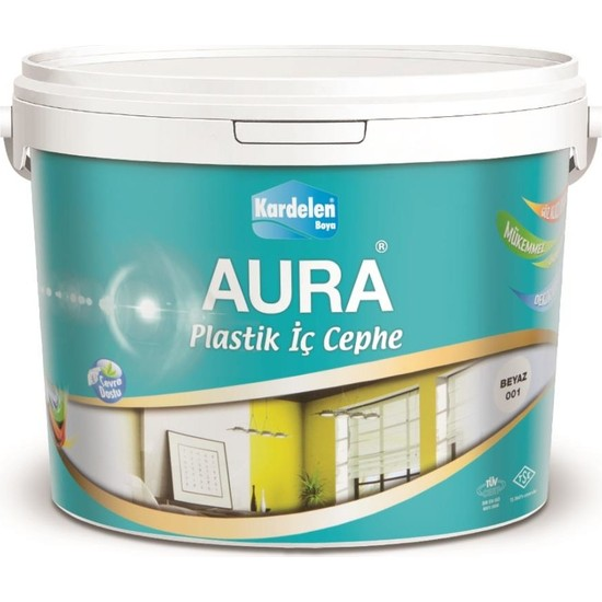 Kardelen Aura Plastik İç Cephe Boyası 3.5 Kg Tse