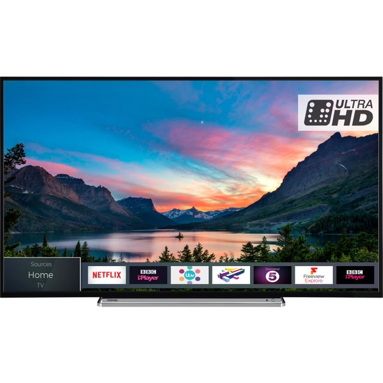 Toshiba 55V6863 55'' 139 Ekran Uydu Alıcılı 4K Ultra HD Smart LED TV