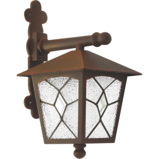 Sensa Marka Tiffany Model Alüminyum Enjeksiyon Döküm Aplik , Antik Bronz Renk