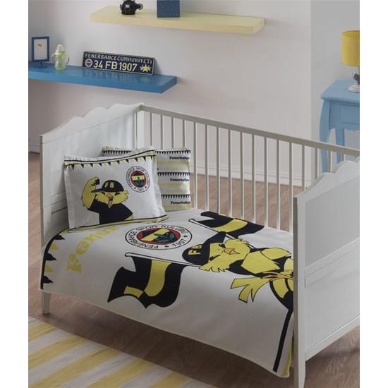 Taç Lisanslı Bebek Pike Takımı-Fenerbahçe Fanatik Baby
