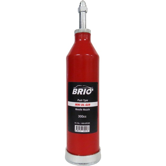 Brio İnce Yağ Pompası 300 Cc Manuel Portatif