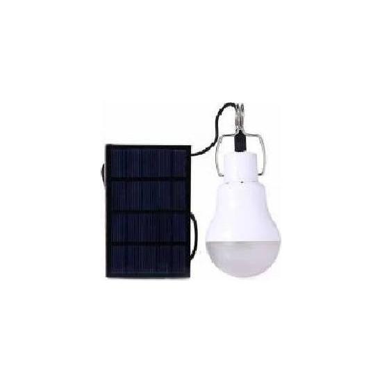 Rosh Güneş Enerjili Solar Panelli Taşınabilir Led Ampul Solar Taşınabilir Güneş Enerjili Led Ampul