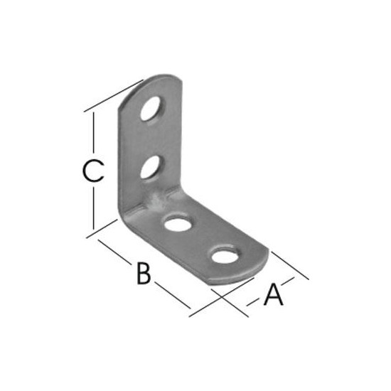 Proto Mkn L8 L Bağlantı Gönye 15*30*30 (10 Adet)