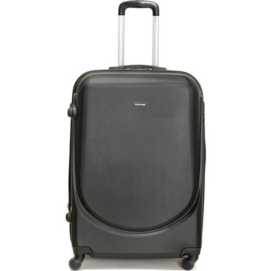 Travel Soft U Kmr 6101-O Siyah Unisex Orta Valiz