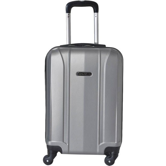 Travel Soft U Mkn 6112-K Gümüş Unisex Küçük Valiz