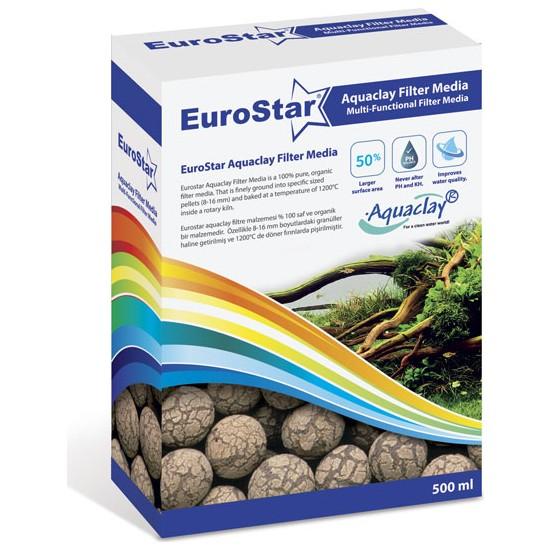 Eurostar Aquaclay Biyolojik Filtre Malzemesi 500 ML