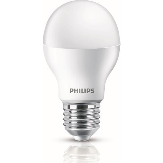 Philips LEDBulb 9-60W E27 2700K Sarı Işık
