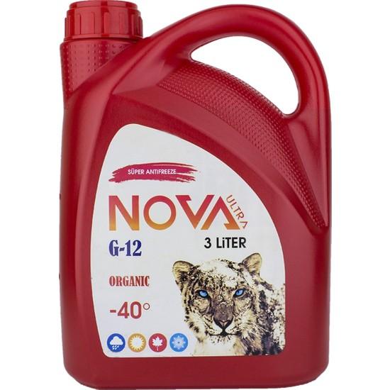 Nova ULTRA -40 Derece Organik Kırmızı Antifriz 3 lt