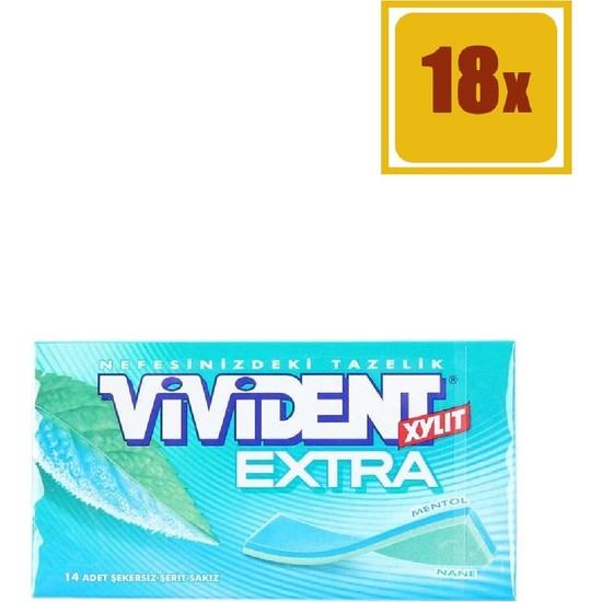 Vivident Extra 26 gr 18'li Set