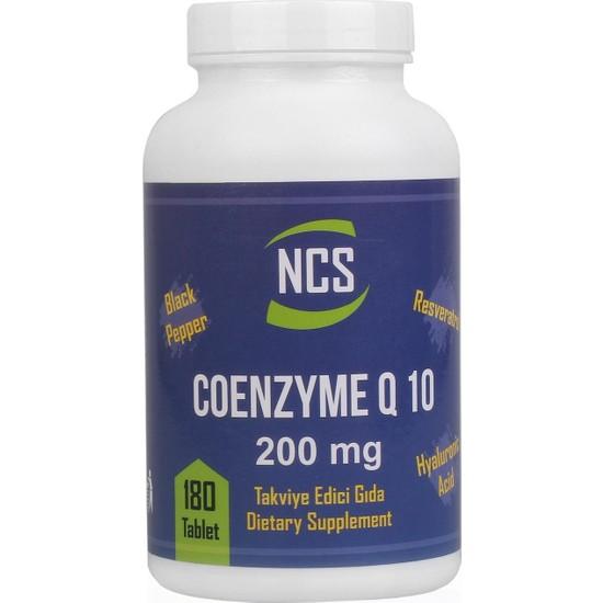 Ncs Coenzyme Q-10 200 Mg Resveratrol Hyaluronic Acid Koenzim 180 TABLET