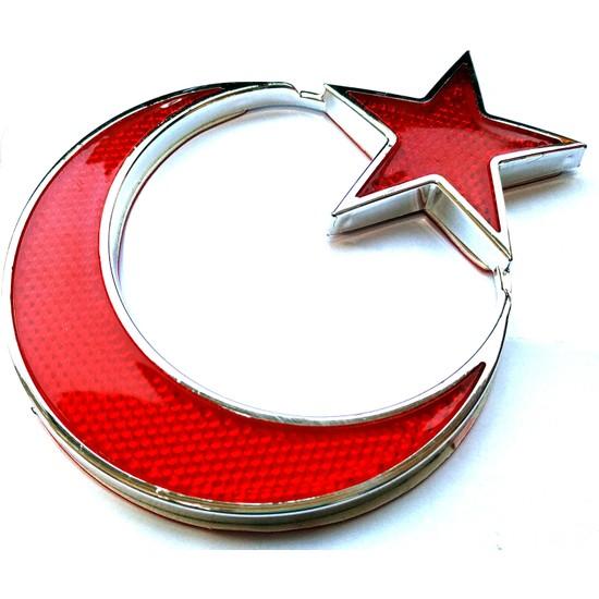 Modacar Türk Bayrağı Reflektörlü Arma 427260