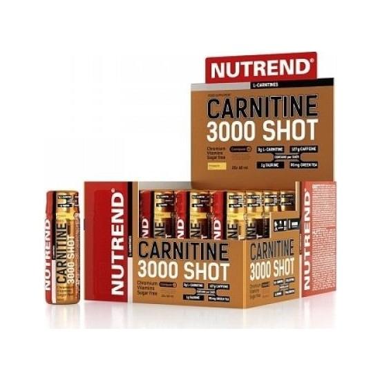 Nutrend L-Carnitine 3000Mg Shot 20 Ampul