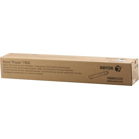 Xerox Phaser 7800 Yük.Kap.Yellow Toner 17.200 Sayfa