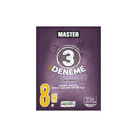 Okyanus Yayınları 8. Sınıf Master 3 Deneme