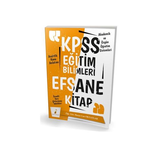 Pelikan 2020 KPSS Eğitim Bilimleri Efsane Tek Kitap Konu Anlatımlı