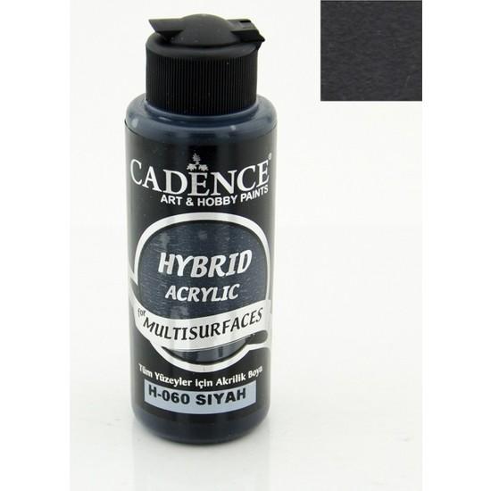 Cadence Multisurface Akrilik Boya 120 Ml Siyah
