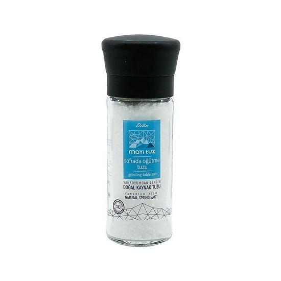 Mayi Tuz Doğal Kaynak Tuzu Seramik Değirmen 110 Gr