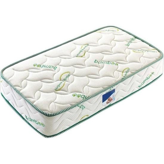 Midilife Bamboo Yaylı Yatak Lüx Soft Yaylı Yatak 60 x 120 cm