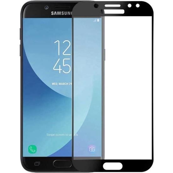 VPW Samsung Galaxy J7 Prime (Ön) 5D Full Siyah Nano Premium Dayanıklı Ekran Koruyucu