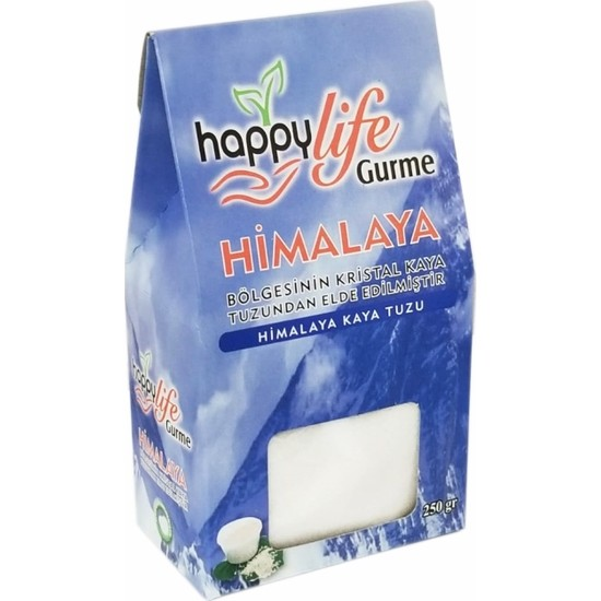 HappyLife Himalaya Kaya Tuzu ( Beyaz )250 gr