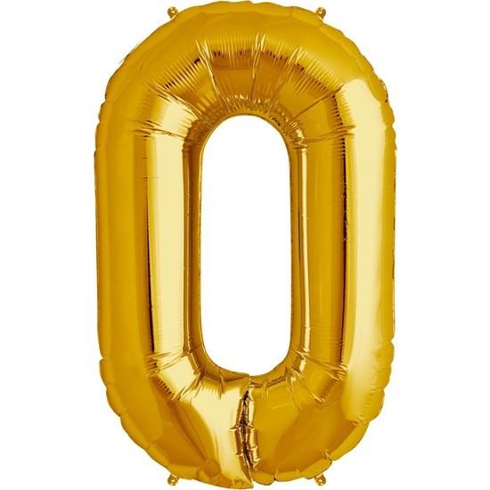 Buldum Buldum O Harfi Altın Buldum Folyo Balon 40 cm