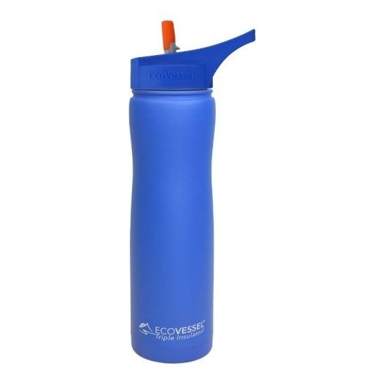 Eco Vessel Summit - Insulated Steel Straw Bottle 0,75 Lt Termos