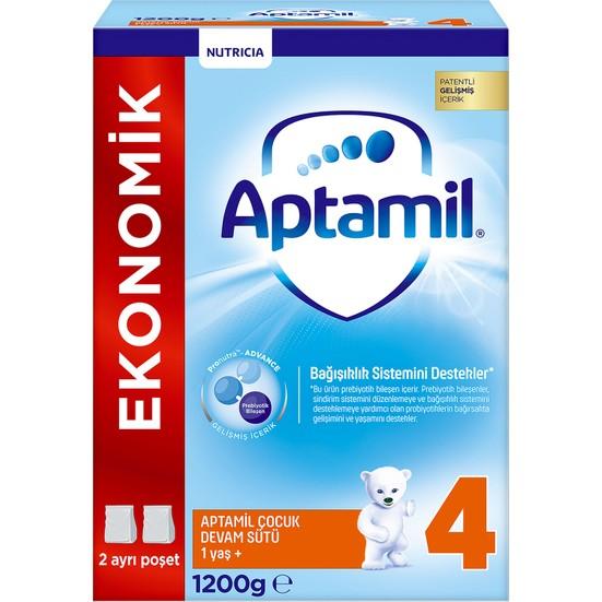 Aptamil Çocuk 4 (Toz) Devam Sütü 1200 gr 1 Yaşından İtibaren1 Yaşından İtibaren