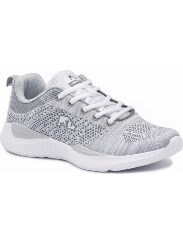 Lumberjack Gri-Beyaz Kadın Günlük Ayakkabı Spor 100356648 8M Wolky