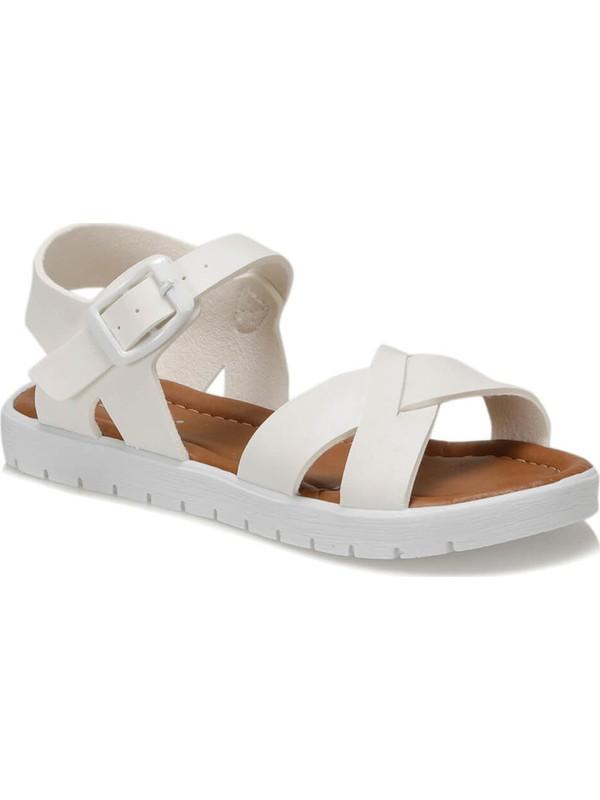 Polaris 91.508159.F Beyaz Kız Çocuk Sandalet