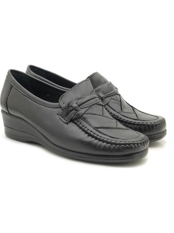 Filik Tam İç Dış Hakiki Deri Anne Ayakkabısı