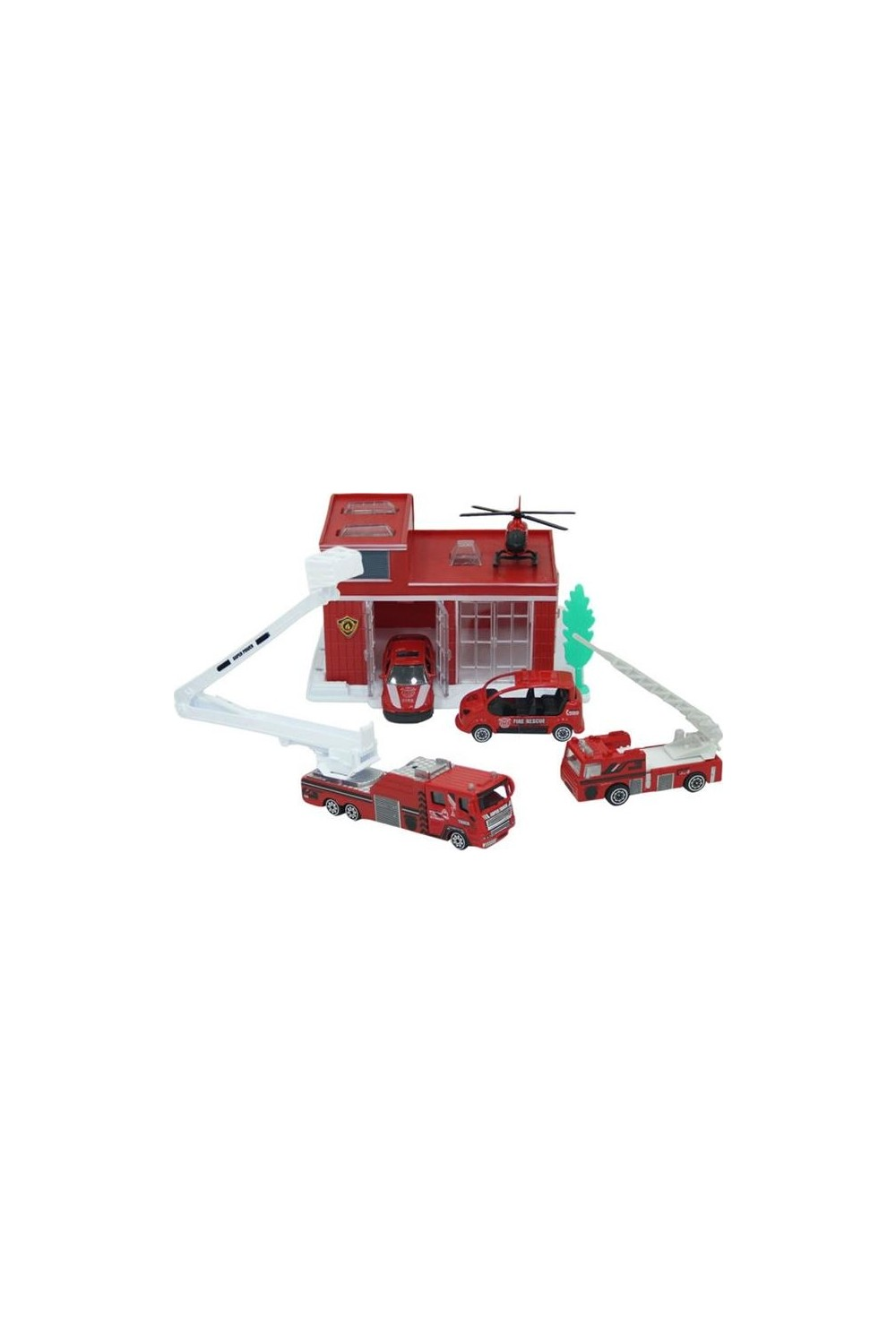 Maxx Wheels Kids Vehicle Toy-Garage Kit S00002028