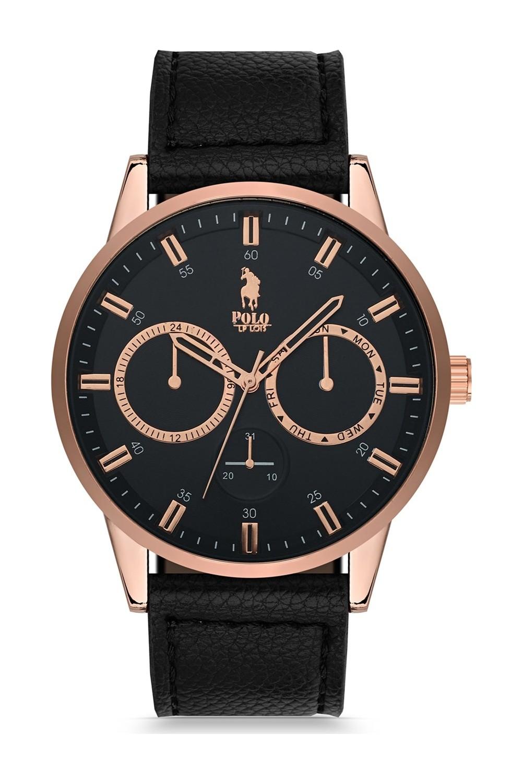 Luis Polo Men's Watch P1043-BK-01