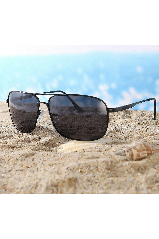 Di Caprio Men's Sunglasses DC1097BLACK