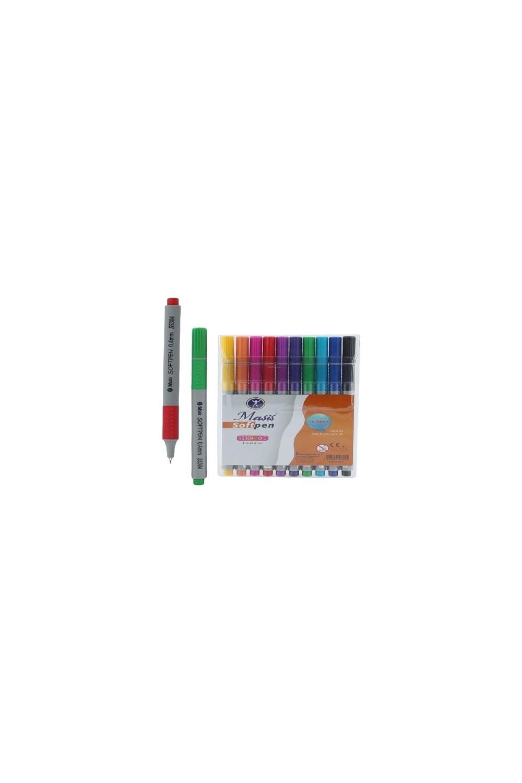 Masis Fiber Tip Pen 10 Color - S5304-10C