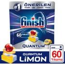 Finish Quantum 60 Tablet Bulaşık Makinesi Deterjanı Limon