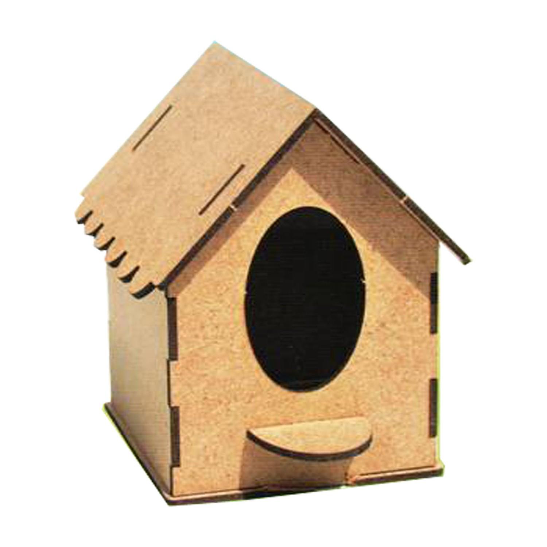 Ahsap Boyanabilir Kus Evi Boya Seti Hediye Fiyati
