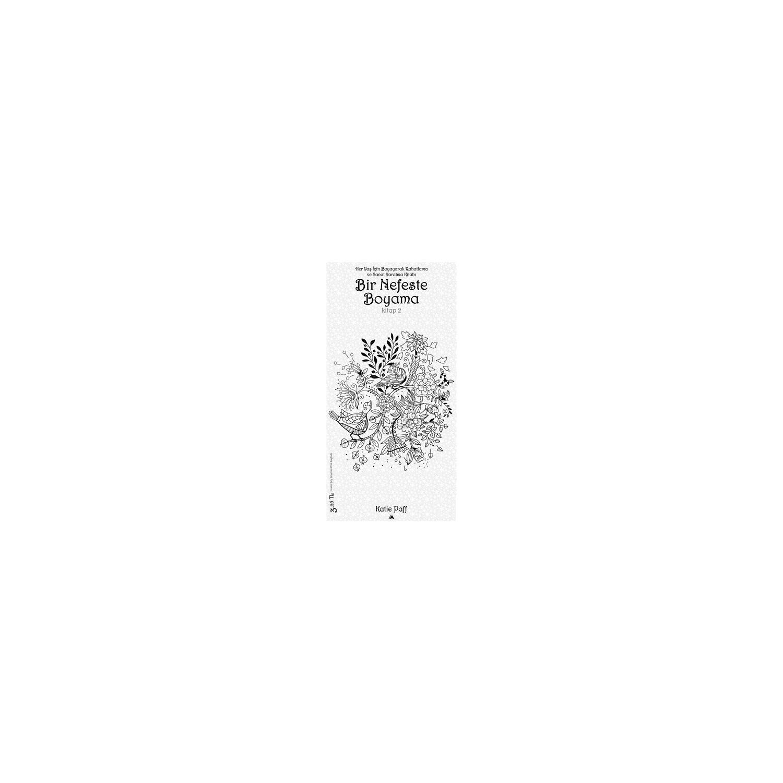 Bir Nefeste Boyama Kitap 2 Katie Paff Fiyati Taksit Secenekleri