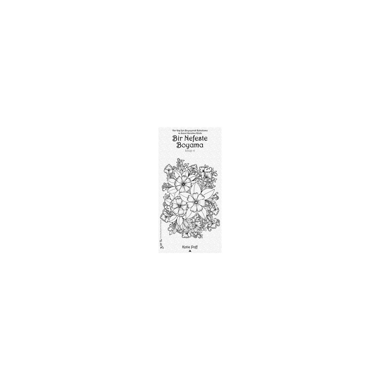 Bir Nefeste Boyama Kitap 4 Katie Paff Fiyatı