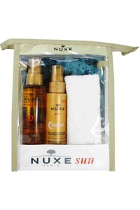 Nuxe Body Tanning Oil & Protective Hair Oil Set