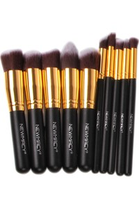 Newmacy Make-up Brush Set 10 pcs