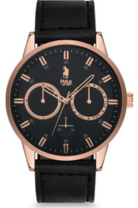 Luis Polo Men's Watch P1043-BK-01