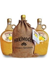 Hekimoglu Lemon And Garlic Cure Bottle